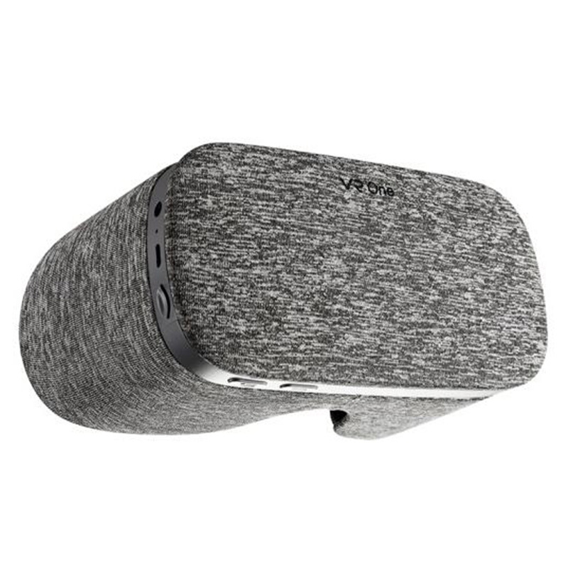 LEORY 5,5 pulgadas paño VR gafas bluetooth luz transpirable Hardware aceleración VR 3D gafas con USB TF tarjeta WiFi 4 K de salida - 4