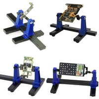 Adjustable Printed Circuit Board Holder Frame PCB Soldering and Assembly Stand Clamp Repair Tool 360 Degree Rotation