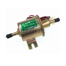HEP 02A HEP02A Универсальный 12 В Электрический топливный насос Инлайн Дизель Бензин низкого давления