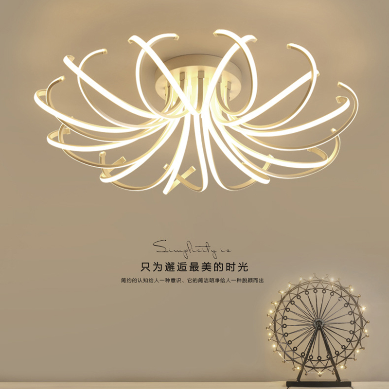 modern led ceiling lights child design acrylic brief living room deckenleuchten luces del techo bedroom Ceiling lamp