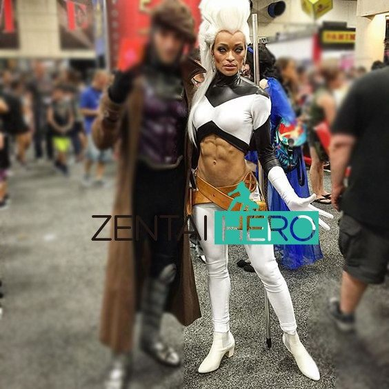 Sexy storm cosplay