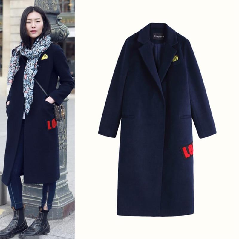 Popular Blue Coats Women-Buy Cheap Blue Coats Women lots from ...