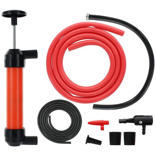 New Car Fuel Siphon Hose Pump Manual Hand Siphon Syphon Transfer Tube Pump Tool A/b Type For Fluid Liquid Water Gas Gasoline Inflatable Pump