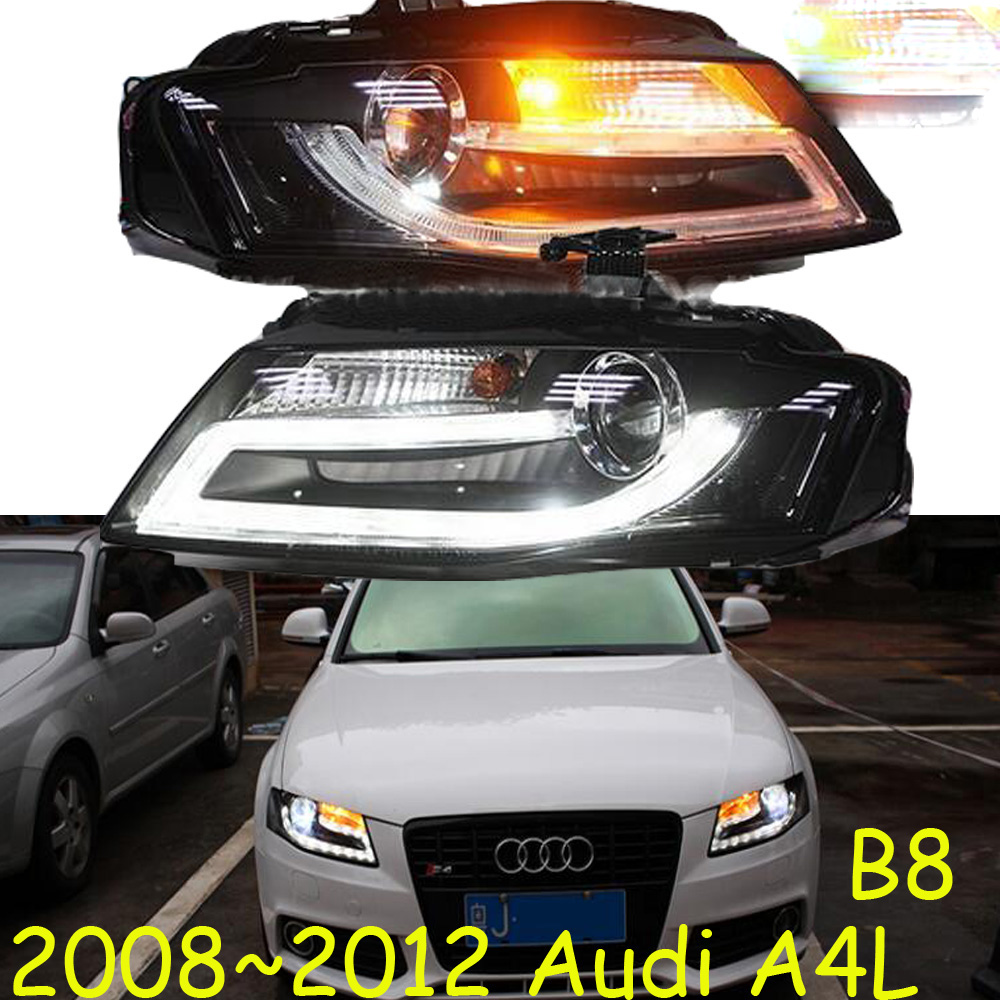 HID,2008~2012,Car Styling for Audl A4L Headlight,canbus ballast,A4L Fog lamp,A4,A5,A8,Q7,S3 S4 S5 S6 S7 S8,A3 head lamp