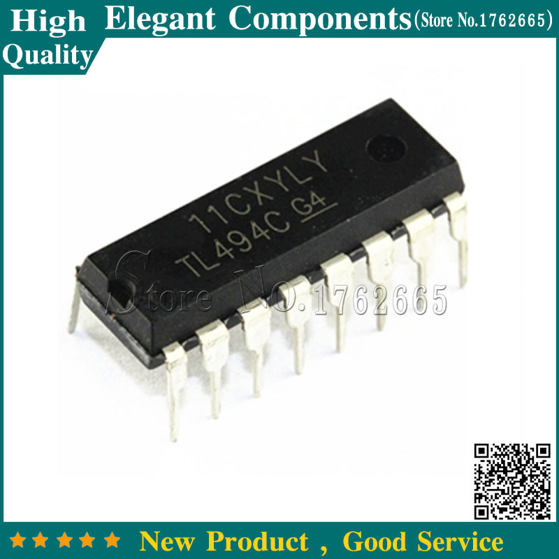 10pcs Tl494cn Dip Tl494c Dip16 Tl494 Pwm Power Supply Controllers Ic Sales Of Quality Assurance