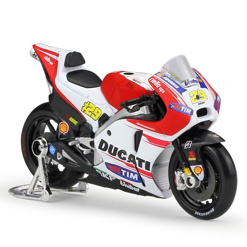 1:18 Maisto Ducati Desmosedici 2015 Yamaha YZR 2016 2014 Racing Diecast Motorcycle