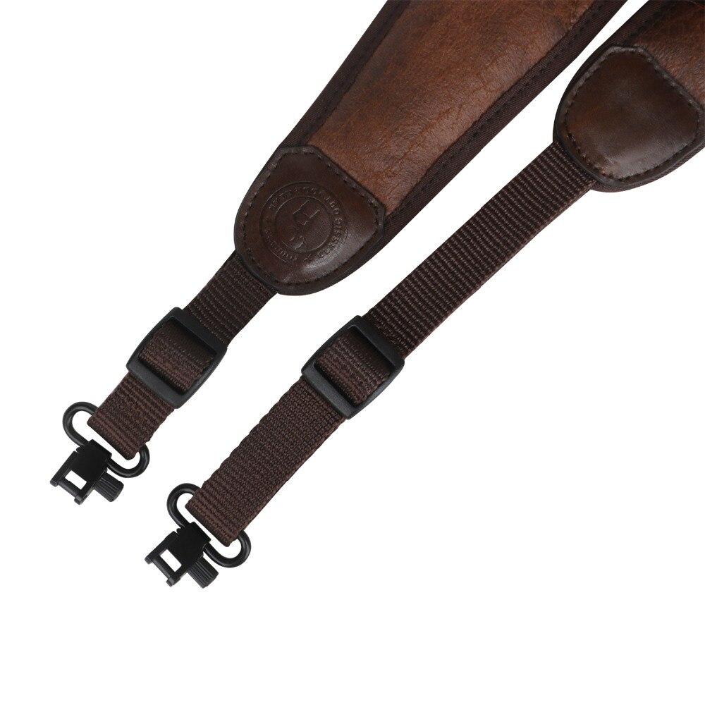 Image 4 - Tourbon Tactical Hunting Gun Accessories Rifle Shotgun Sling Gun Belt Strap Non slip 62 97CM w/Swivels Adjustable Neoprene(1SET)-in Holsters from Sports & Entertainment