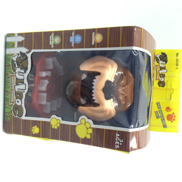 Russian spain hotsale Gameplay ULLdog Mouth Dentist Bite Finger Game Funny Toy Gift ,Funny Gags Toy Novetly Toys For Kids Gift
