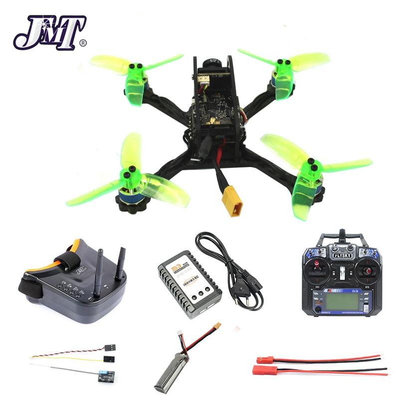 135mm Mini F3 OSD 2S RC FPV Racing Drone Quadcopter 10A 7500KV Brushless 2.4G 6ch BNF RTF Combo Set 1200TVL HD Camera Goggles