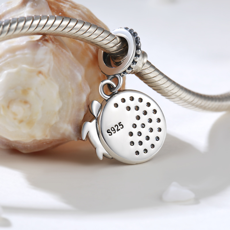 Strollgirl 100 925 sterling silver summer ocean series cute turtle charms beads fit diy pandora bracelet necklace jewelry gifts