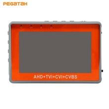 4.3 inch CCTV Tester 1080P AHD CVI TVI Analog CVBS for Camera tester Monitor Support UPT PTZ Audio test DC12V output CCTV Tester
