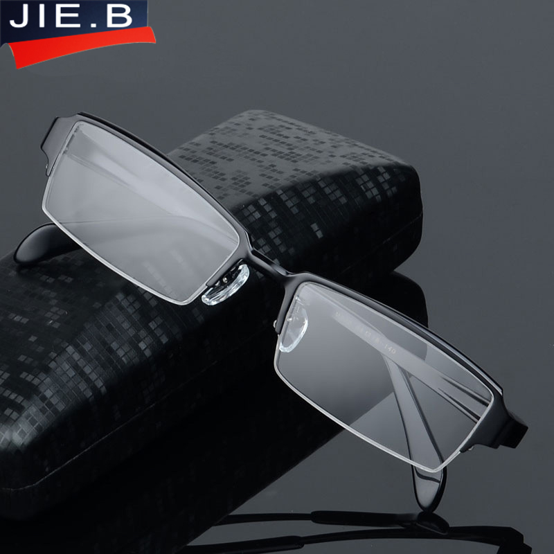 Eyewear Titanium Glasses Frame Men Eyeglasses Computer Optical Prescription Reading Clear Eye Lens male Spectacle oculos de grau