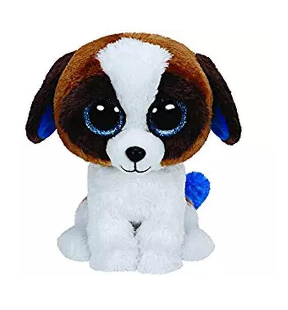 """Ty Beanie Boos 6"""" 15cm Gabby the Goat Plush Stuffed Collectible Big Eyes Doll Toy"""