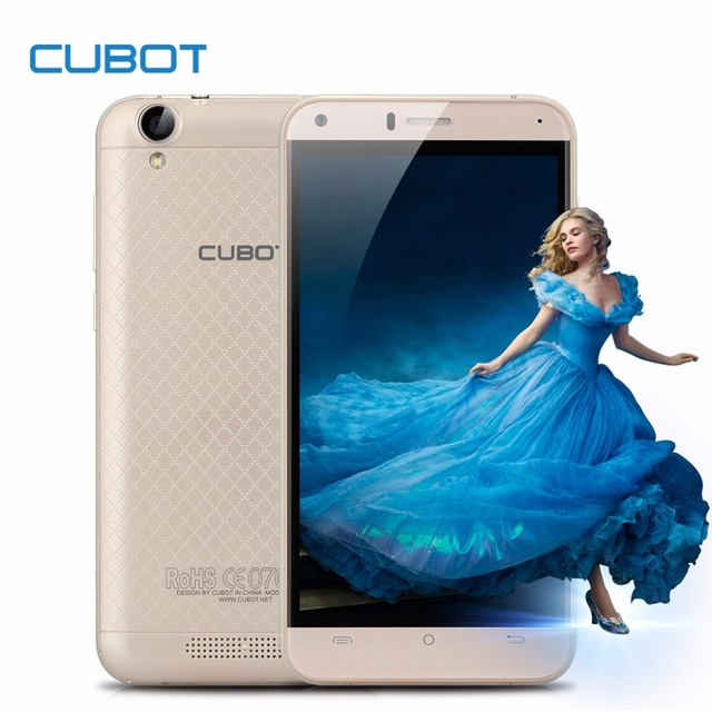 """Оригинал Cubot Руку 5.0 """"MT6737 Quad-Core Android 6.0 Сотовые Телефоны 3 ГБ RAM 16 ГБ ROM Смартфон 4 Г FDD LTE Dual СИМ Мобильный Телефон"""