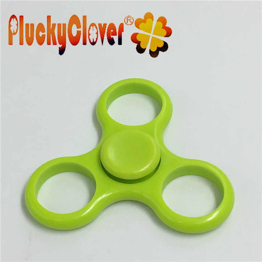 1pc blask w ciemności zabawki Spinner lęk stres światło fidget Spinner Handspinner ręcznie Spinner układanka antystresowa śmieszne zabawki dla dzieci