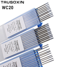 10pcs gray color code 2.0 * 175 TIG Cerium tungsten electrode head tungsten needle/rod for the welding machine with TIG function cnbtr 10pcs wt20 gray tig welding tungsten electrode 2% ceriated replace 1 6 x 150mm