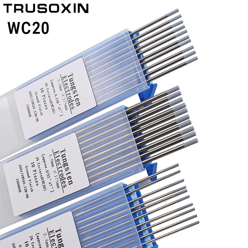 /Électrodes de soudage TIG noir 4,0 mm. or rouge 1,0 mm gris Electrodes de tungst/ène blanc