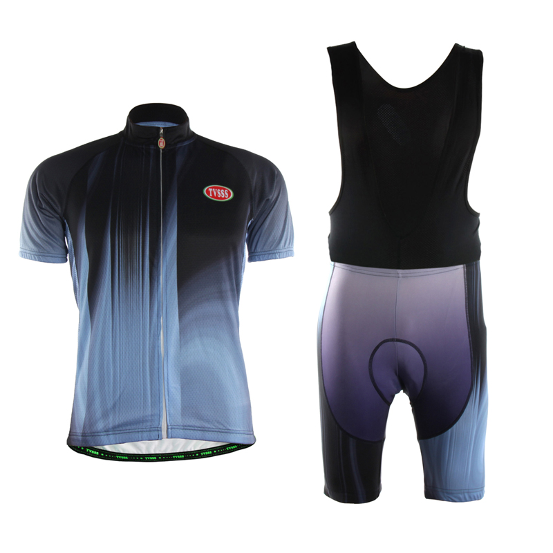 Unique TVSSS Mens Short Sleeve Suits Long Hole Mesh Fabric Sportswear Riding Jersey Cool in Summer