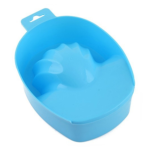 1 Pc Nail Art Hand Wash Remover Soak Bowl DIY Salon Nail SPA Bath Manicure Tool