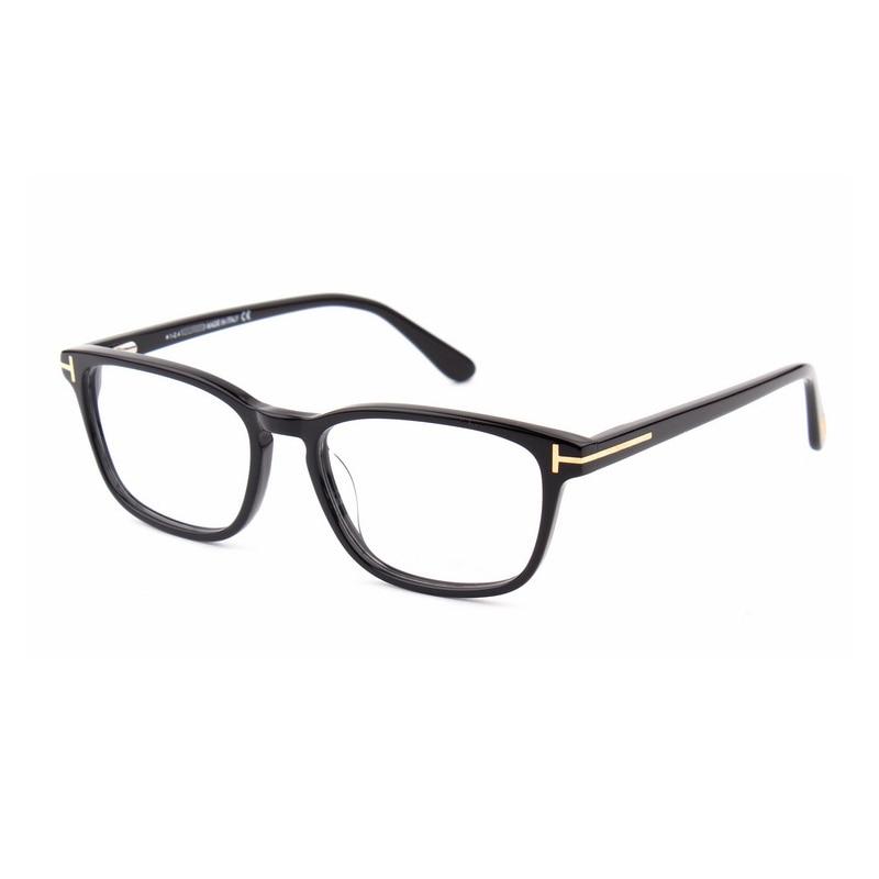 2019 acétate marque lunettes carrées cadre hommes Designer rétro optique montures de lunettes femmes Vintage clair Prescription lunettes