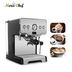 ITOP Household Semi-automatic Espresso Coffee Maker Machine 15Bar Cappuccino Latte Milk Foam Coffee Maker 220V For Cafe Shop