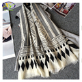 1PC 185*100CM 2016 High Quality Twill Cotton Women Big Size Long Scarf Woman New Cotton Pashminas