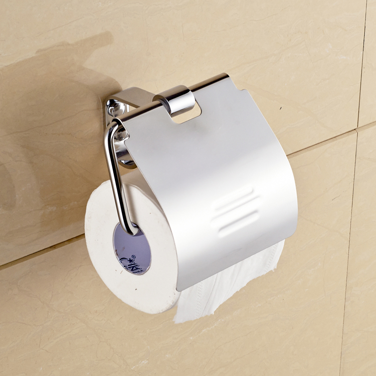 stainless steel towel box bathroom sanitary ware hardware hanging paper towel rack tissue box toilet set