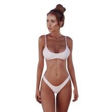 Women Bandeau Bandage Bikini Set Push-Up Brazilian Swimwear Beachwear Swimsuit 2018 Fashion Tankinis feminino biquinis Mujer#070
