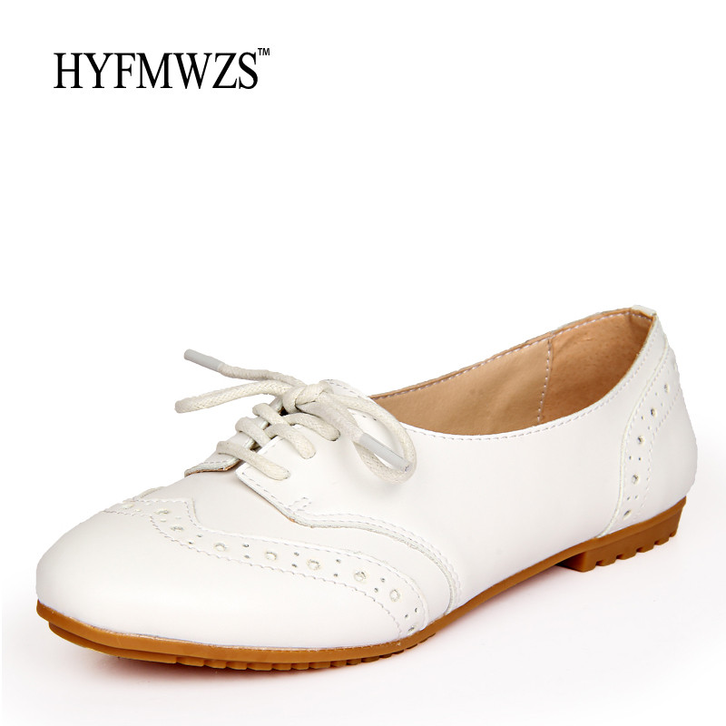HYFMWZS Flat Shoes Women Fashion Loafers Flats Ballet Shoes For Women Breathable Mother Shoes Woman Lace Up Nurse Shoes White women canvas shoes embroidered ballet flats women spring loafers women ballerina flat shoes vintage single mother casual shoes