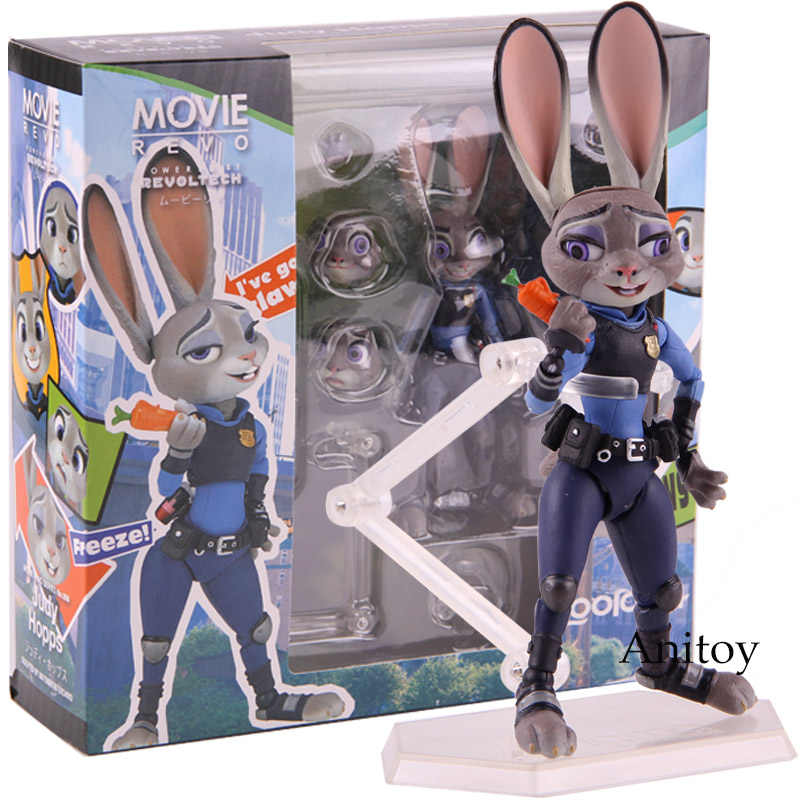 Konijn Judy Hopps Figuur Actie Pvc Collectible Model Toy