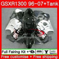 Обтекатели для SUZUKI Hayabusa GSXR1300 96 07 GSXR 1300 96 97 98 99 00 01 глянцевый черный 42SH13 GSX R1300 1996 1997 1998 1999 2001