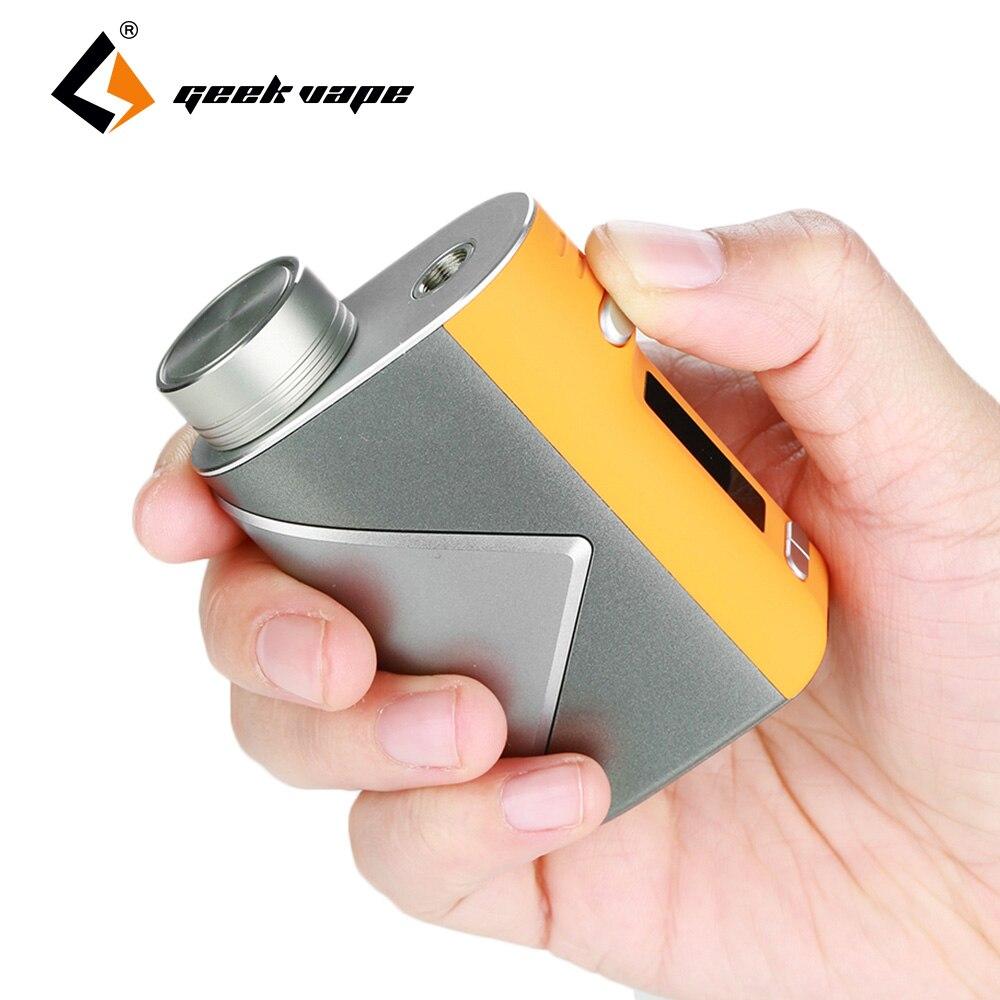 D'origine Geekvape lucide Mod Vape 80 W boîte Mod No 18650 batterie alimentée par avancé comme puce prend en charge E-Cigarette Lumi réservoir vapeur