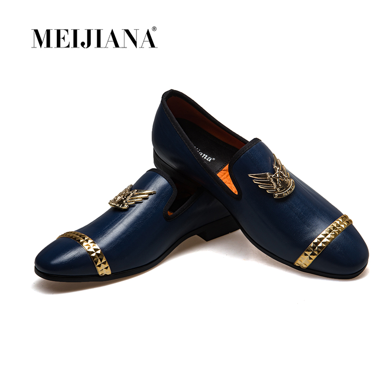 2019 Spring Autumn New Men Luxury Brand Loafers Shoes Wedding Shoes Men Casual Shoes Zapatos Hombre