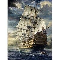 Casse-tête 1000 morceaux – bâteau, voilier en mer