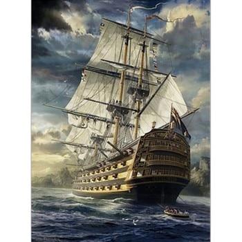 Casse-tête 1000 morceaux - bâteau, voilier en mer