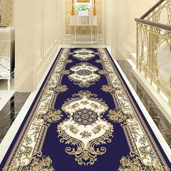 Europe Classic Stair Carpet Home Decor Corridor Carpet Hotel Aisle Rug Entrance/Hallway Doormat Customized Sofa Rugs And Carpets