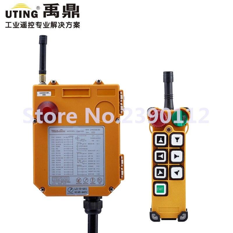 industrial wireless redio remote control F24 6D for hoist crane