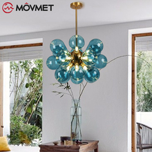 Colored Chandelier Children's Room Balloon led Light Creative Bedroom Restaurant Bar Chandeliers Clothing Store Decorative Lamps retro triangle iron chandeliers creative american rural lighting lamps living room corridor clothing store chandelier