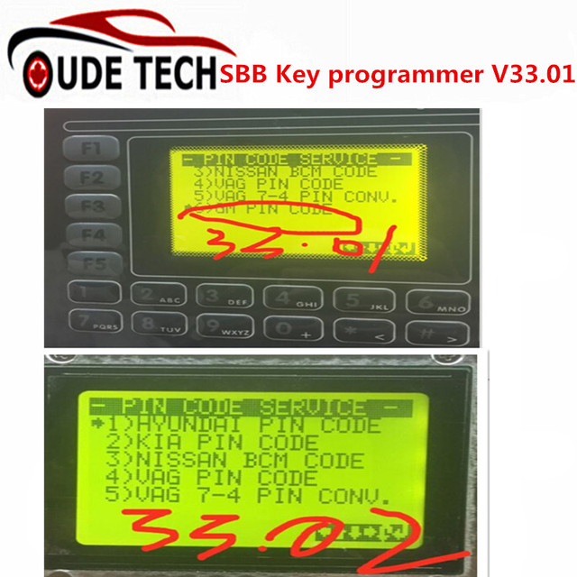 Universal SBB Key Programmer By Immobilizer For Multi-Brands Brazil SBB Silca V33.01 Auto Car Key Maker For Brazil Market