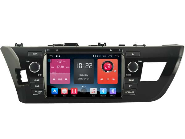 4G lite 2GB ram Android 6.0 8″ quad core car dvd player stereo gps radio tape recorder for toyota corolla 2014 2015 head units