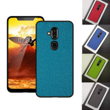 Case For Nokia 9 case X7 7 Plus Luxury Fabric Shell Cover nokia 8.1 Shockproof Capa Funda