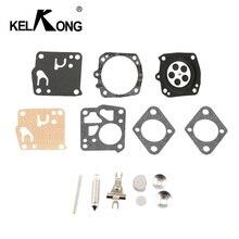 KELKONG Kit de herramientas de reparación de carburador, para Tillotson Homelite XL 12, Super XL, RK 23HS, RK23HS, RK 23 HS, piezas de motosierra