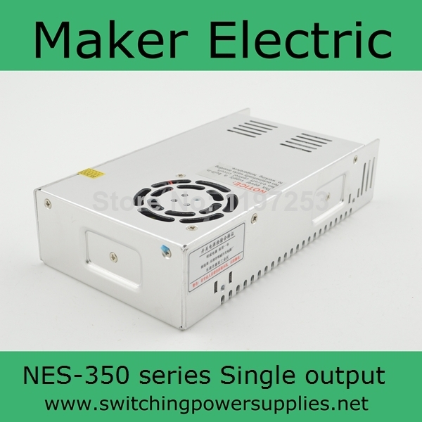 low cost professional factory ac power supply 350w NES-350-36 cost justifying usability