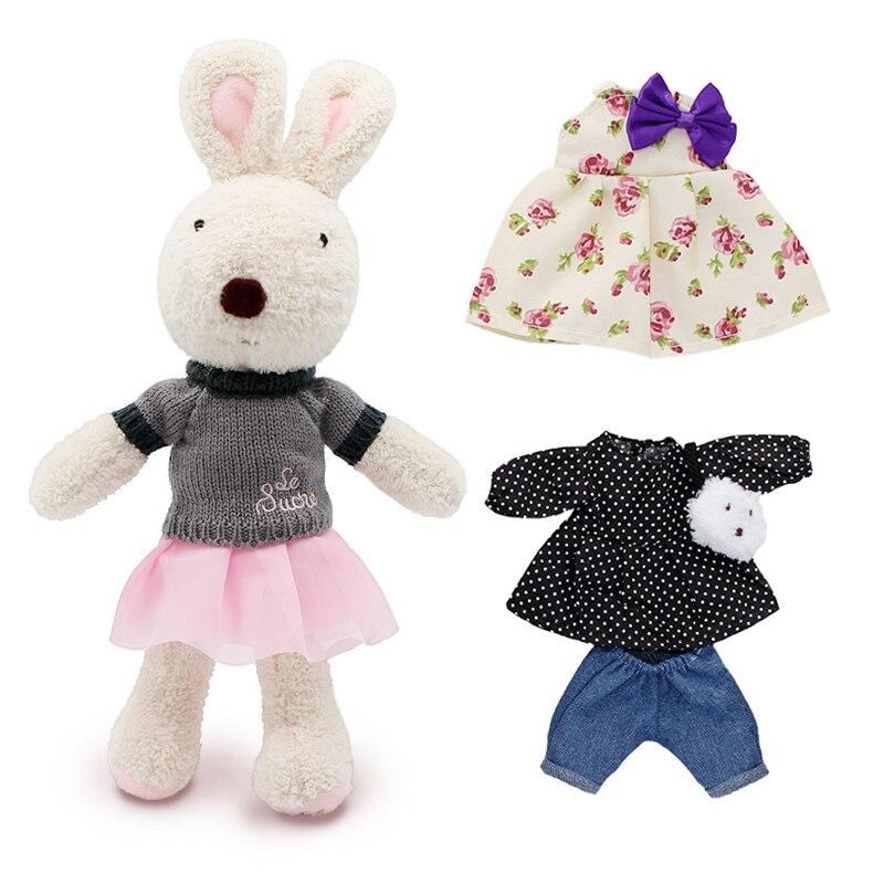 Kawaii le sucre Original kanin kanin plysch dockor & stoppade leksaker brinquedos hobbies för barn tjejer fyllda barn baby leksaker