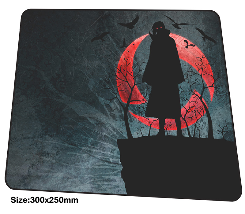 Naruto mousepad 300x250x3mm gaming mouse pad big gamer mat cute game computer desk padmouse Mass pattern large play mats image