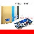 DIY Pantalla LCD Shell Anidación Tesoro 6 Carga 18650 Caja Móvil de la Energía Banco de Potencia Kit de Placa Base (baterías no incluidas)
