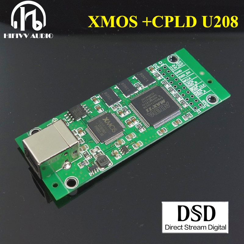 XMOS CPLD XU208 USB Digital Interface I2S Output USB digital interface IIS output usb input DSD