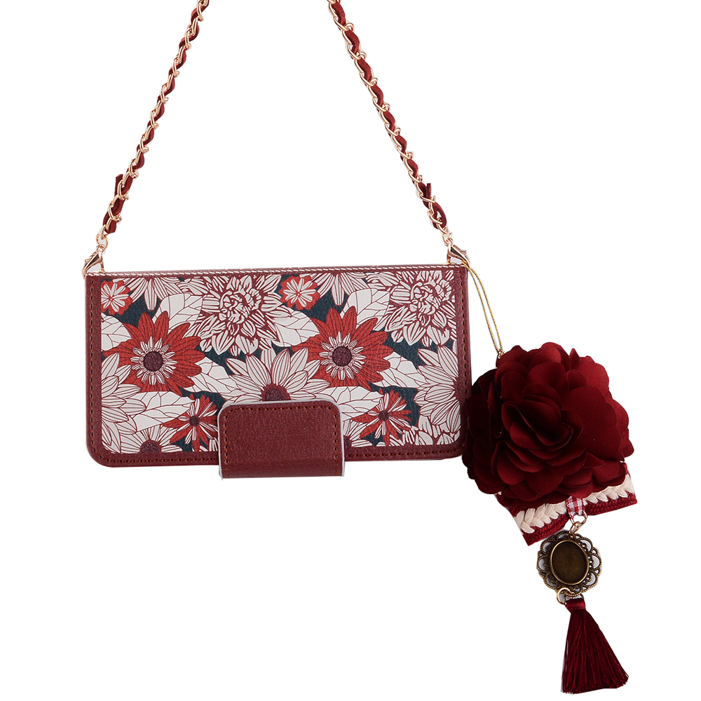 luxury-red-sun-flower-flip-wallet-handbag-leather-bag-case-cover-for-samsung-galaxy-s6-s7-edge-s8-pl