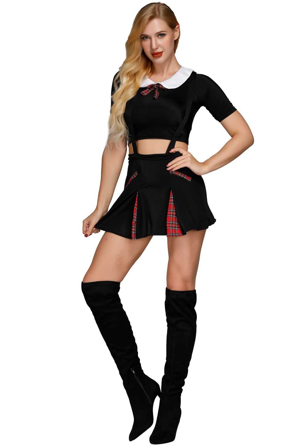 a4fea7032 Adult Naughty School Girl Costume Chic Hot Popular Lovely Fancy Costumes  Schoolgirls Womens Party Costumes Dress