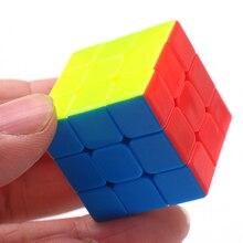Z Key Chain Mini 3×3 Magic Cube Creative Cube Hang Decorations – Colorful
